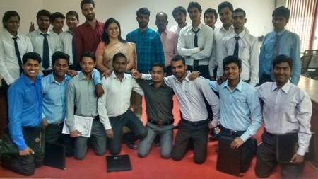 18 Students Got Placed in Ridings Engineering Pvt.Ltd.