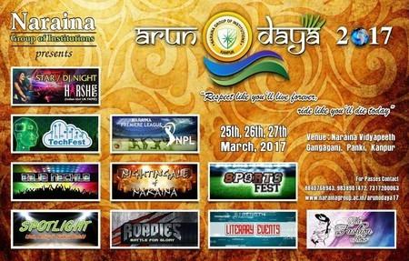 NARAINA presents A Fest of Joy ARUNODAYA-2017